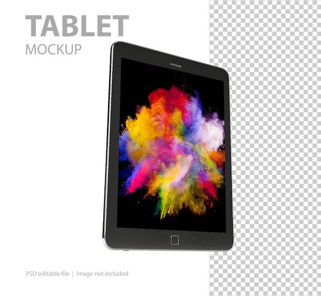 Tablet mockup isolato