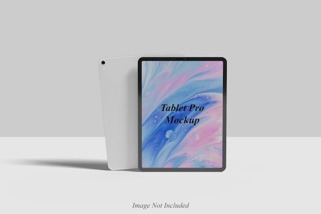 Tablet pro mockup design isolato