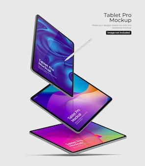 Tablet pro psd mockup