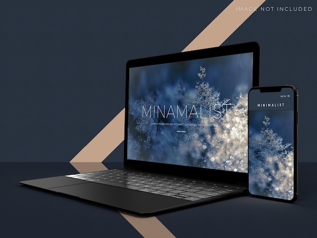 Mockup di tablet e smartphone per l'identità del marchio