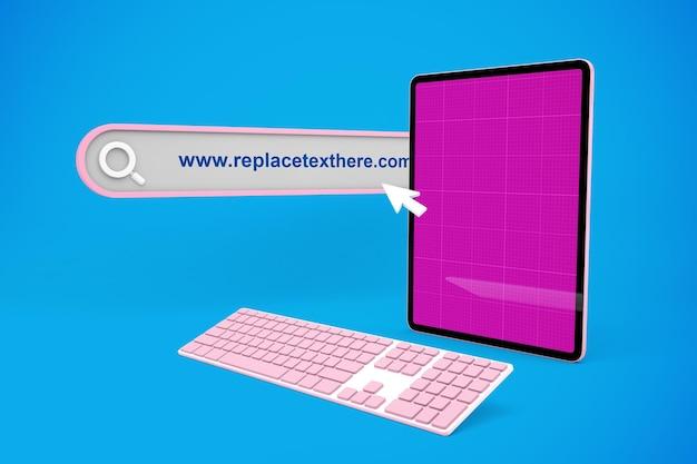 Sito web per tablet