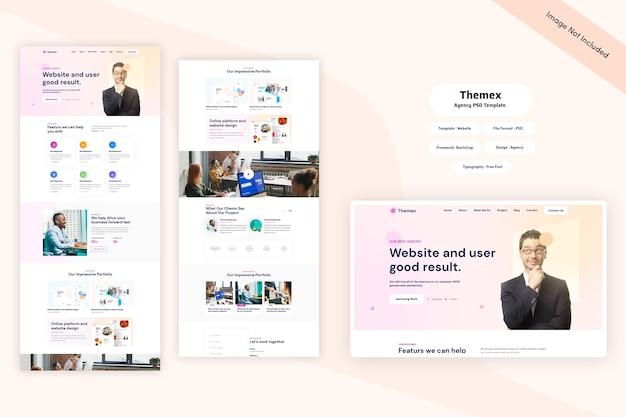Themex - modello web per agenzie