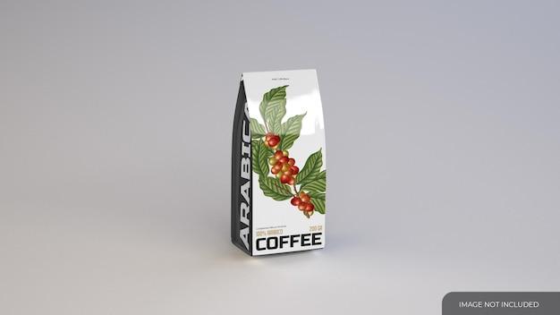 Mockup di borsa da caffè sottile