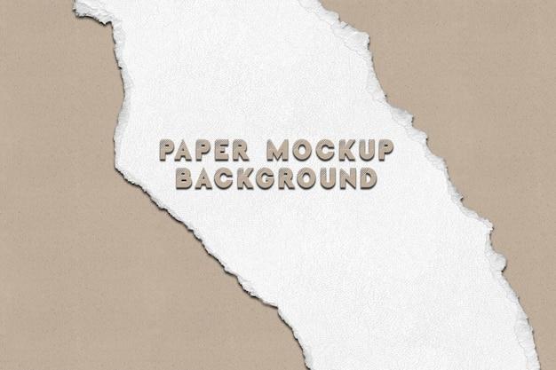 Carta strappata. sfondo di progettazione mockup di carta