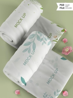 Modello di asciugamano