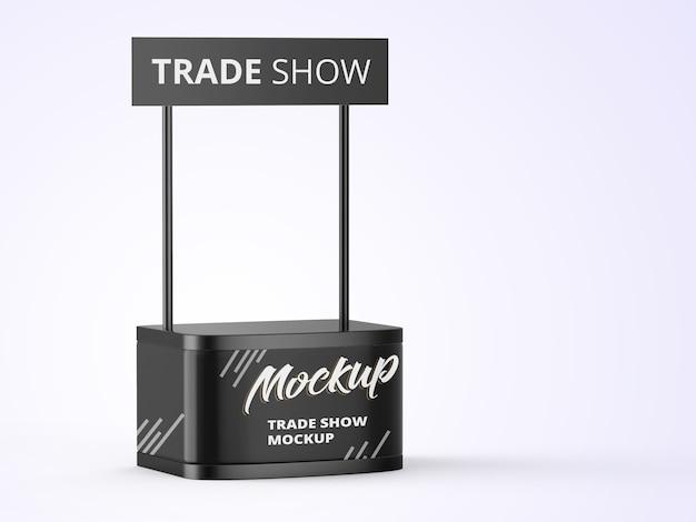 Mockup di stand di affari commerciali