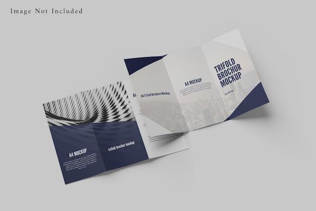 Modello di brochure a tre ante