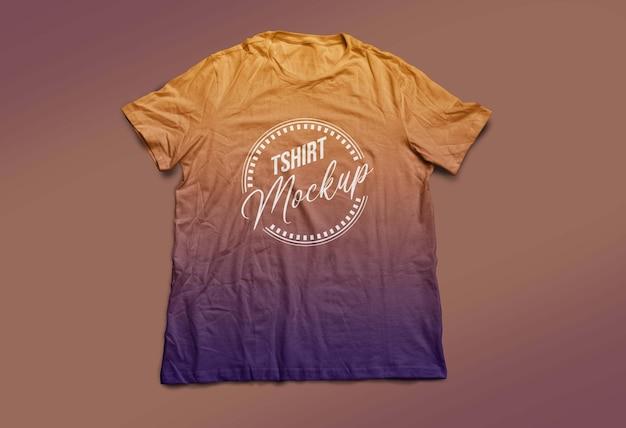 Design mockup della maglietta