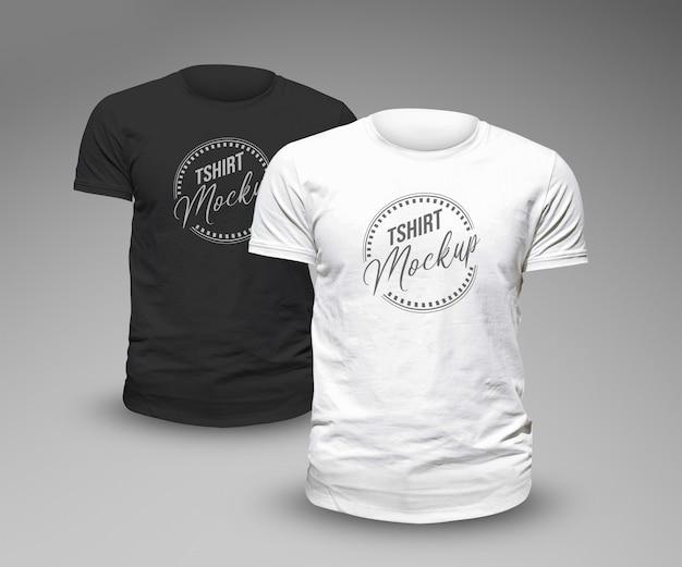 Modello di mockup di tshirt design
