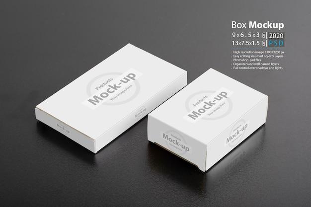 Un primo piano di due pacchetti della pillbox