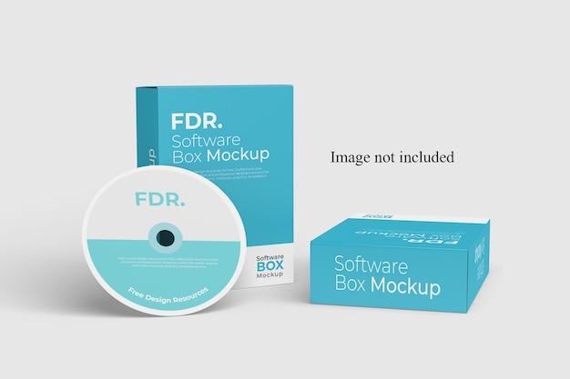 Due software box mockup
