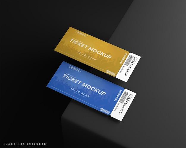 Modello di voucher per due biglietti