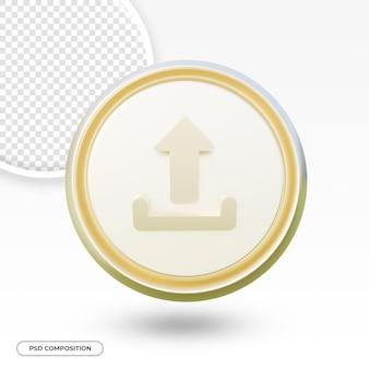 Carica icona freccia isolata