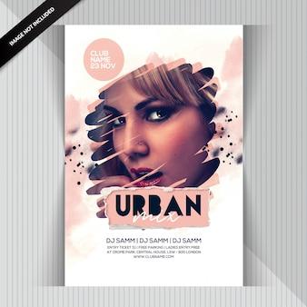 Urban party flyer Psd Premium