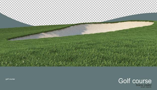 Vari campi da golf Psd Premium