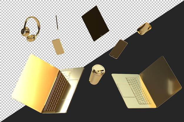 Vari gadget e accessori moderni