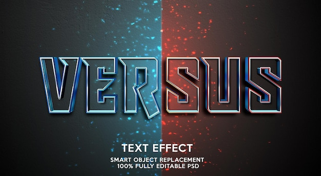 Rispetto al modello di effetto testo
