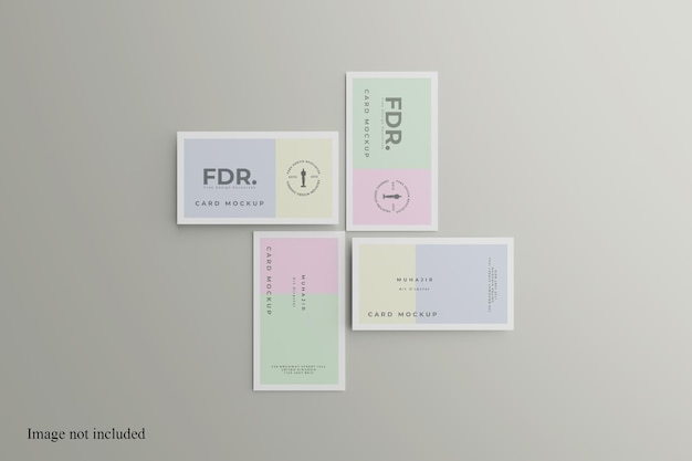Per visualizzare il modello di biglietto da visita minimalista