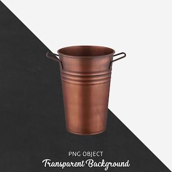 Vaso antico vintage su trasparente