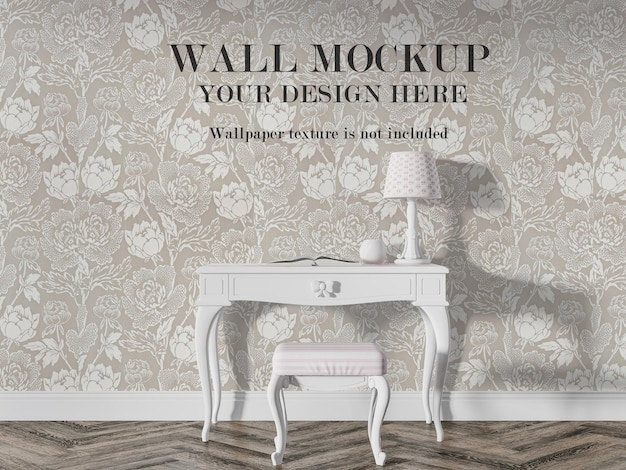 Parete interna vintage per le tue idee di design