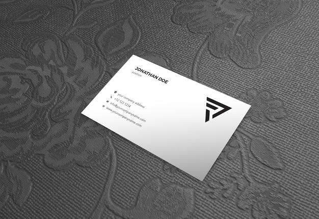 Modello d'annata di rose background prespective businesscard