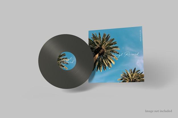 Copertina del disco in vinile mockup