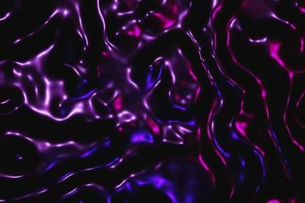 Tessuto ritorto dai colori vivaci con sfondo di profondità di campo ridotta