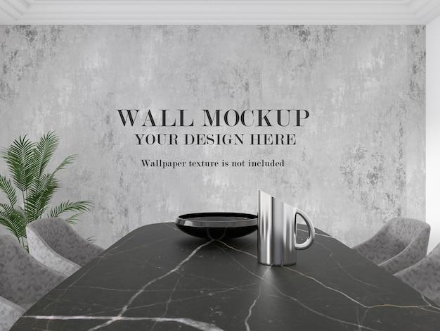 Mockup a parete per le tue idee di design