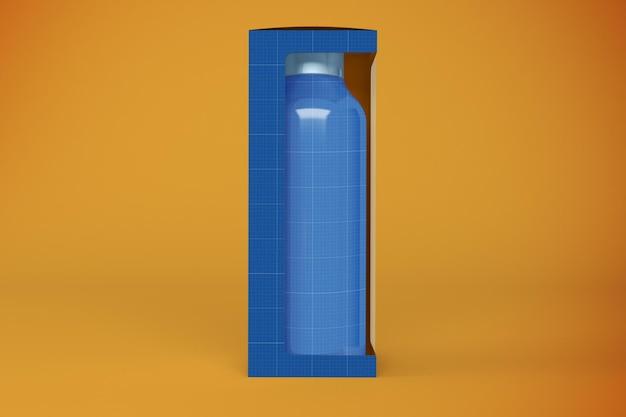 Scatola della bottiglia d'acqua