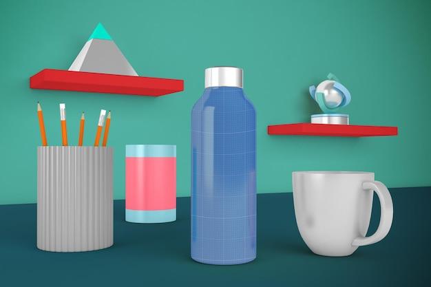 Desktop bottiglia d'acqua