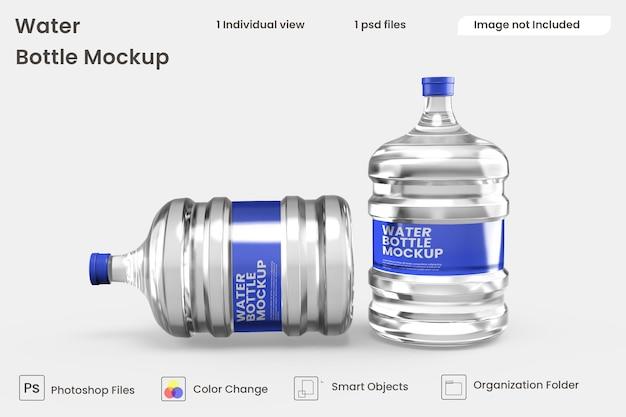 Modello di bottiglia d'acqua psd premium