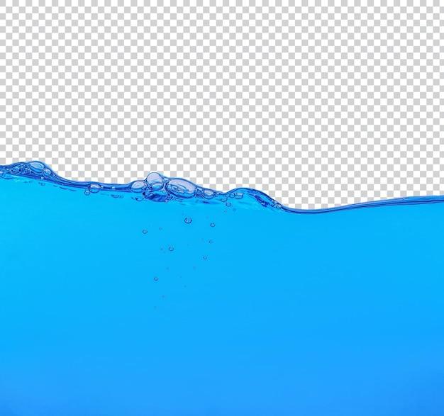 Spruzzi d'acqua isolati psd premium