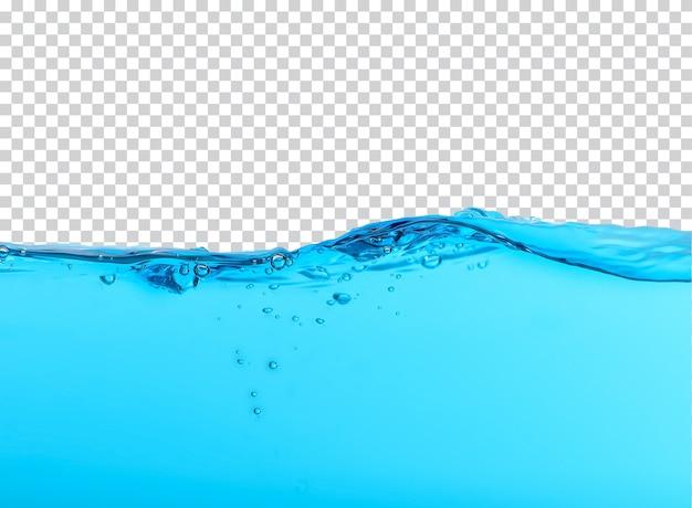 Spruzzi d'acqua isolati