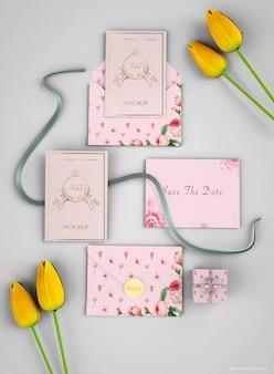 Modello di lettera di invito a nozze