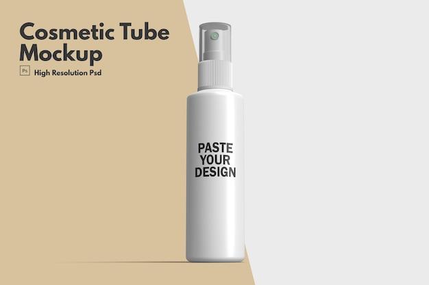 Mockup di tubo cosmetico bianco Psd Premium