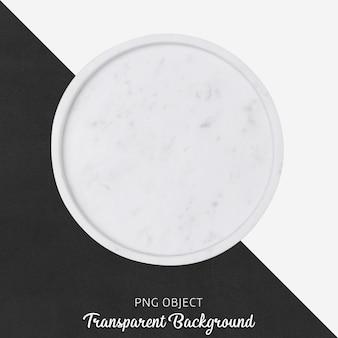 Piatto da portata in marmo bianco