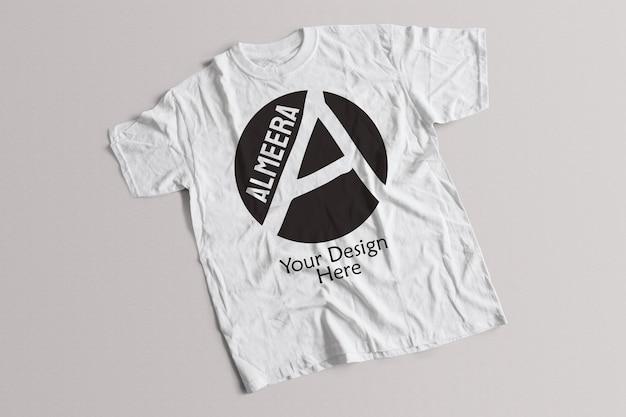 Mockup di maglietta bianca