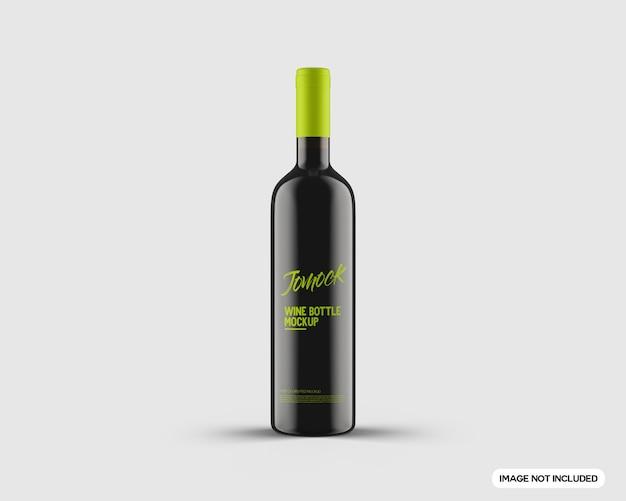 Bottiglia di vino mockup