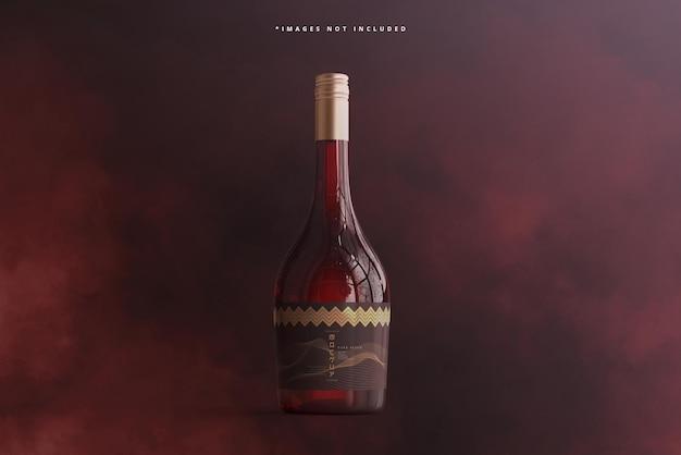Modello di bottiglia di vino wine