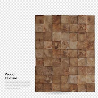 Struttura della parete in legno decorazione mobili design