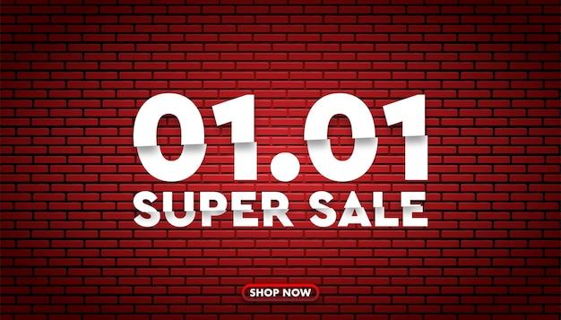 01 01 modello di sfondo super vendita.