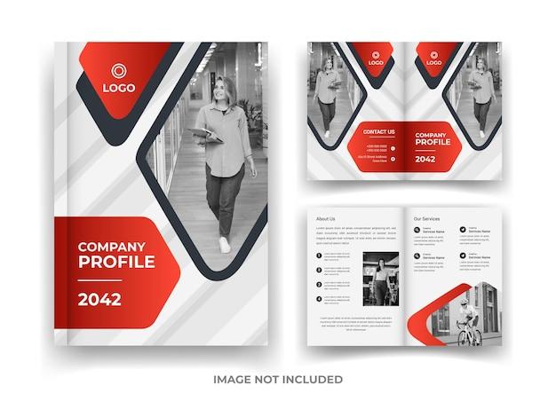 04 pagina business brochure design e report annuale e modello di rivista