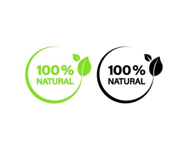Icona naturale al 100%
