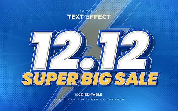 12 12 effetti di testo modificabili in vendita super grande