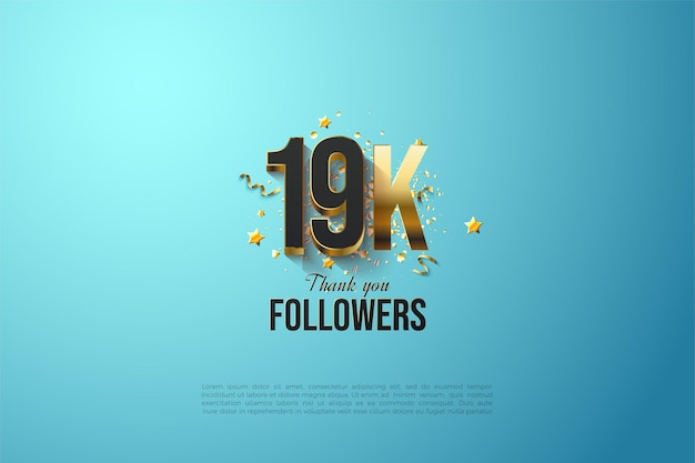 19k follower, grazie modello