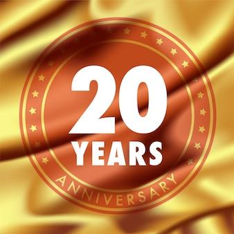 Anniversario di 20 anni