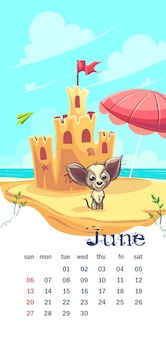 2021 calendario giugno