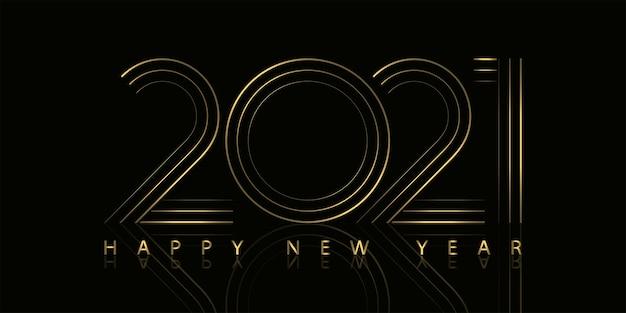 2021 felice anno nuovo testo saluto design.