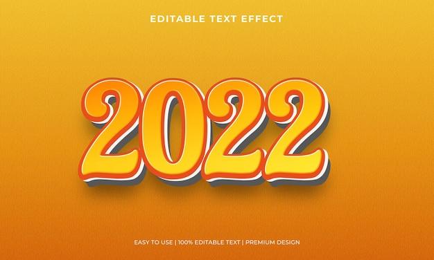 2022 effetto testo modificabile