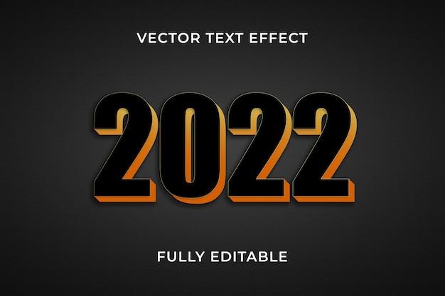 2022 effetto testo photoshop